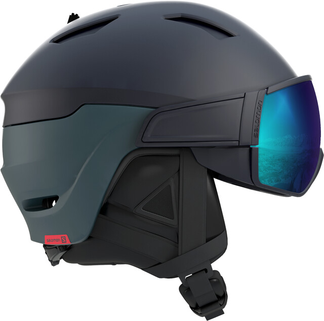 Salomon M's Driver Dr. Helmet Dress Blå/Moroccan